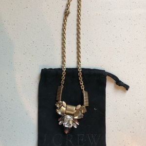 J. Crew gold statement necklace NWOT